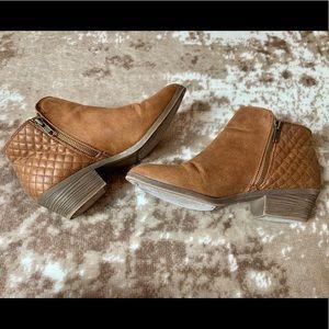 Faded Glory brown booties